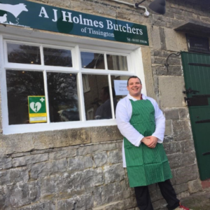Andrew Holmes of AJ Holmes Butchers